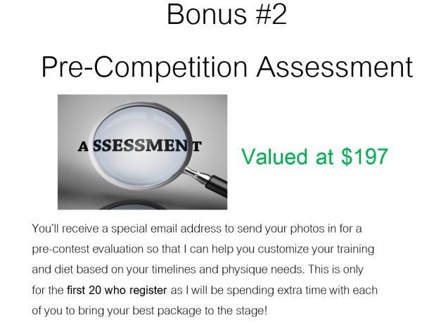 Bonus Assessment