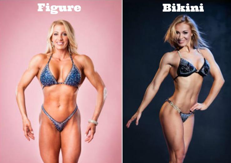 bikini fitness träning